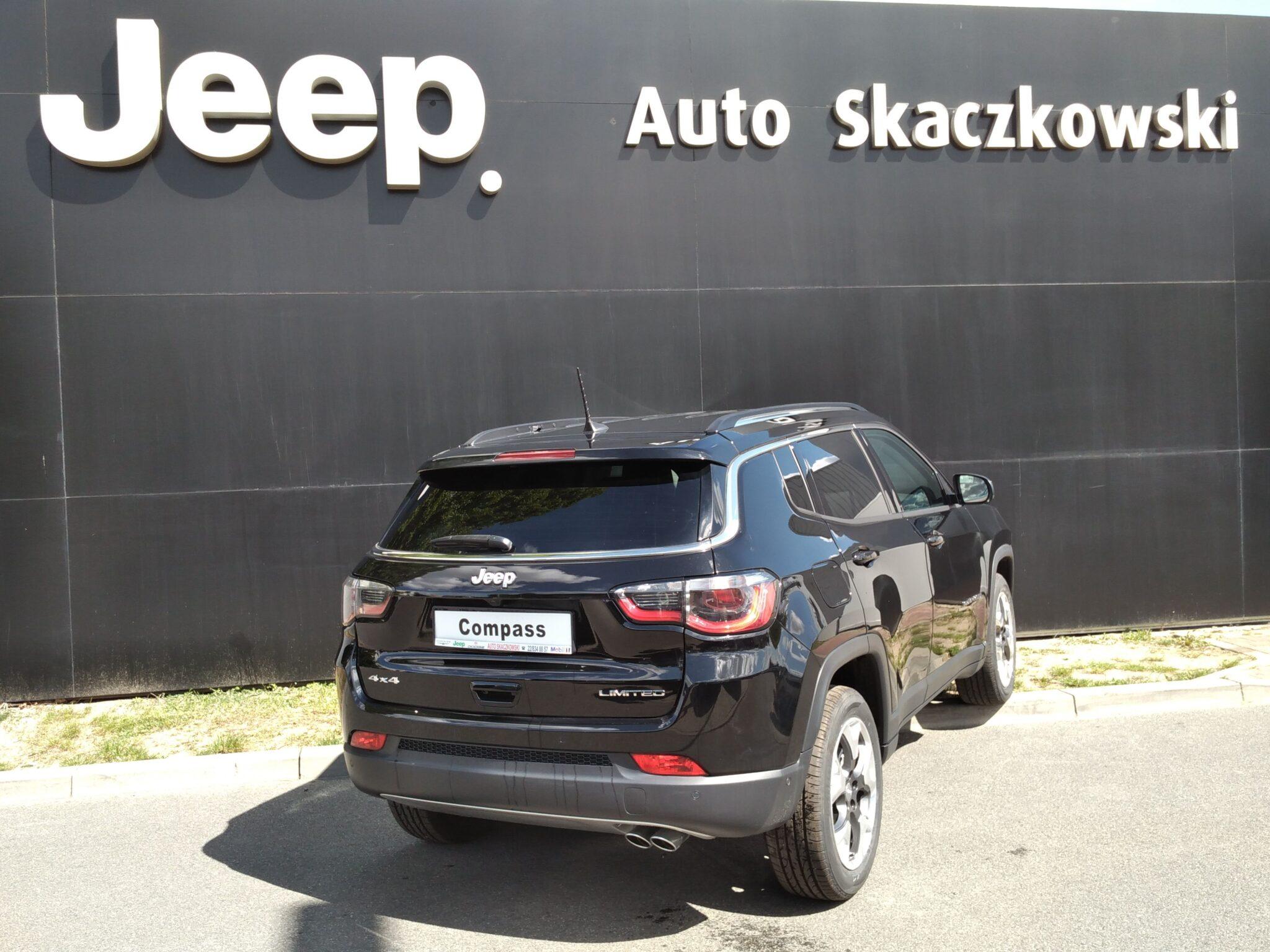 Jeep Compass LIMITED 1,3 150KM 4×2 6A