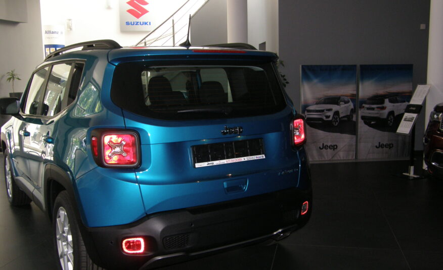 JEEP RENEGADE LIMITED 1,3 190KM 6A 4×4 HYBRYDA PLUG IN